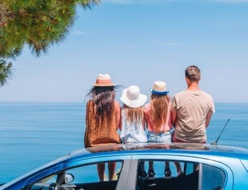 Met de auto op zomervakantie